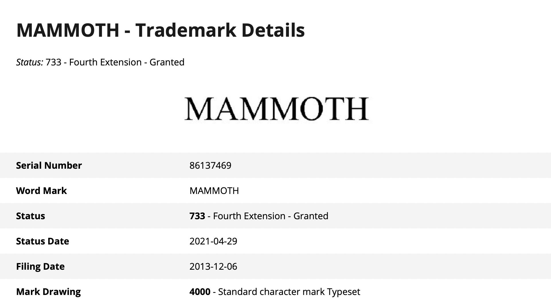 苹果注册商标暗示:macOS 12 可能叫 Mammoth 或 Monterey