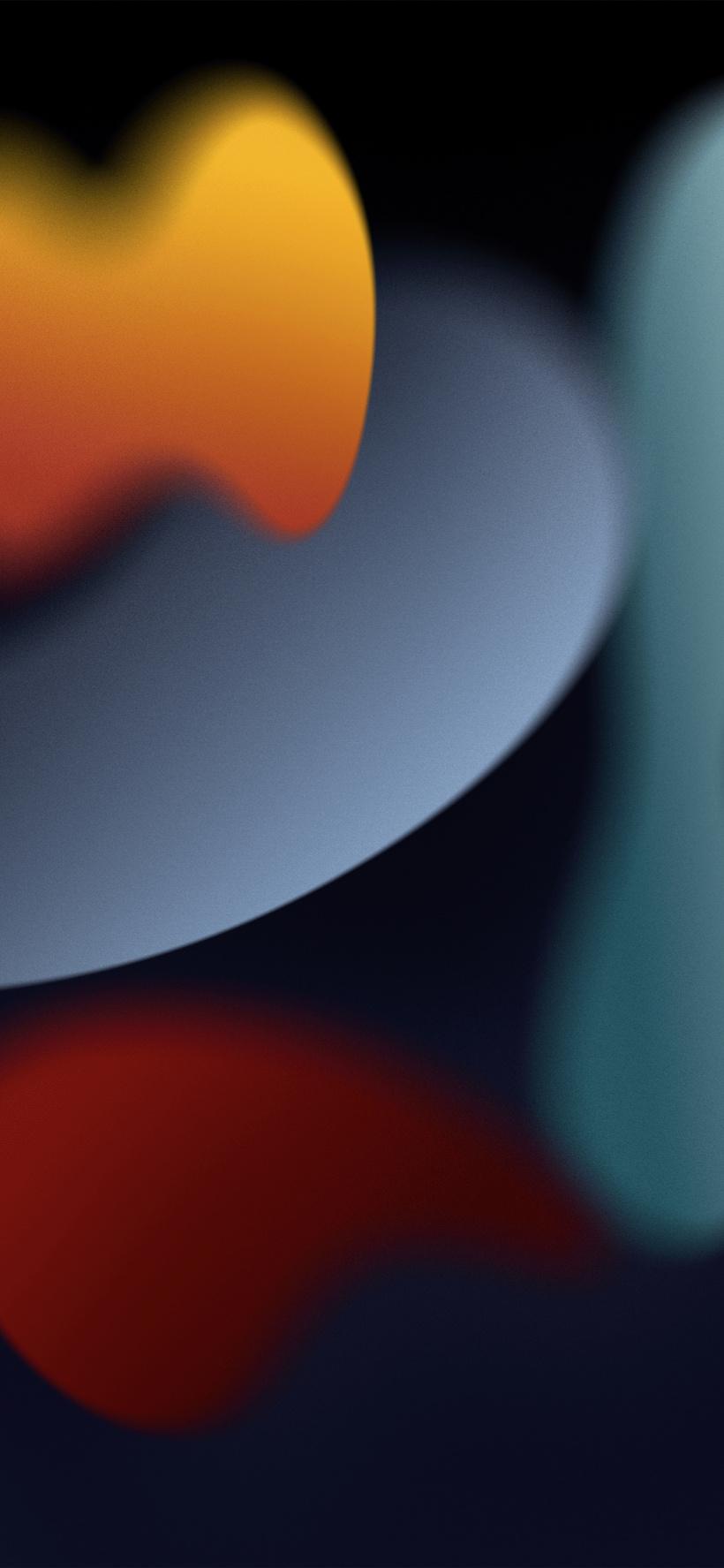 苹果 iOS 15/iPadOS 15/macOS 12 Monterey 官方壁纸分享