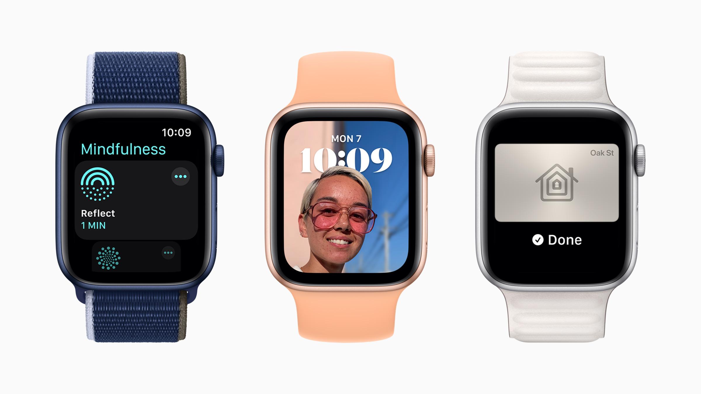 苹果发布 watchOS 8:钱包 + 家庭应用更扩展功能,增加体能训练类型