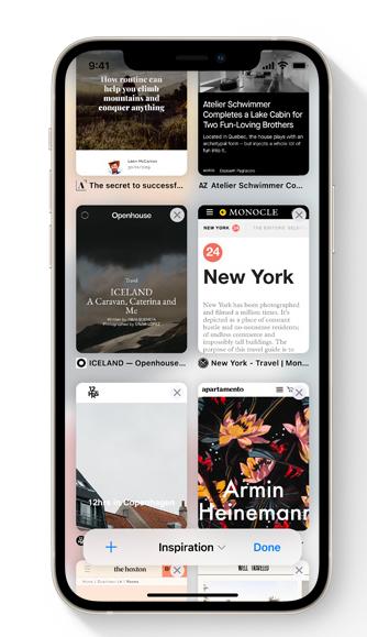 iOS 15 苹果 Safari 浏览器的 4 个全新改进