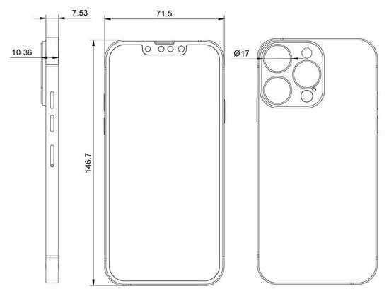 苹果 iPhone 13 Pro Max 最新爆料:后置镜头模组更大