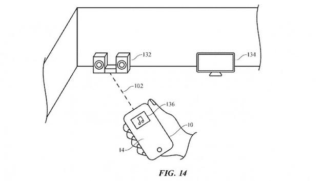 新专利显示苹果 UWB 技术让遥控器和被控制物体进行互动