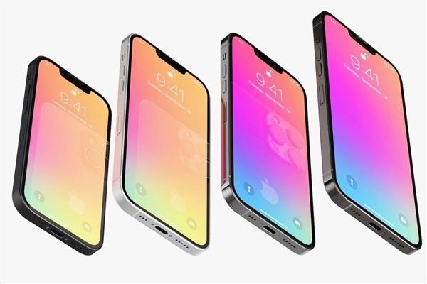 曝苹果 iPhone 13 命名已被确定:4 款机型、全系小刘海