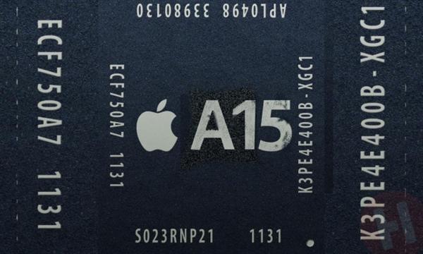 苹果 A15 参数、性能曝光:5 核 GPU 加持、比 A14 更强
