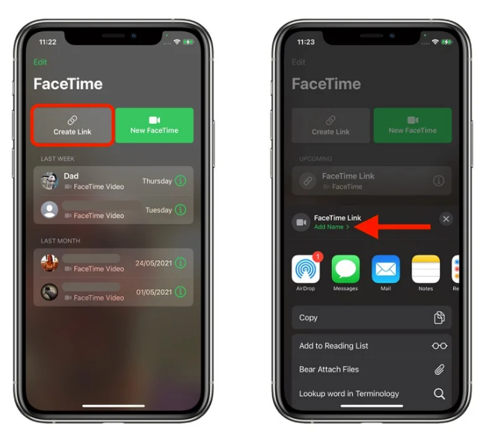 iOS 15 可邀请安卓用户进行 FaceTime 通话