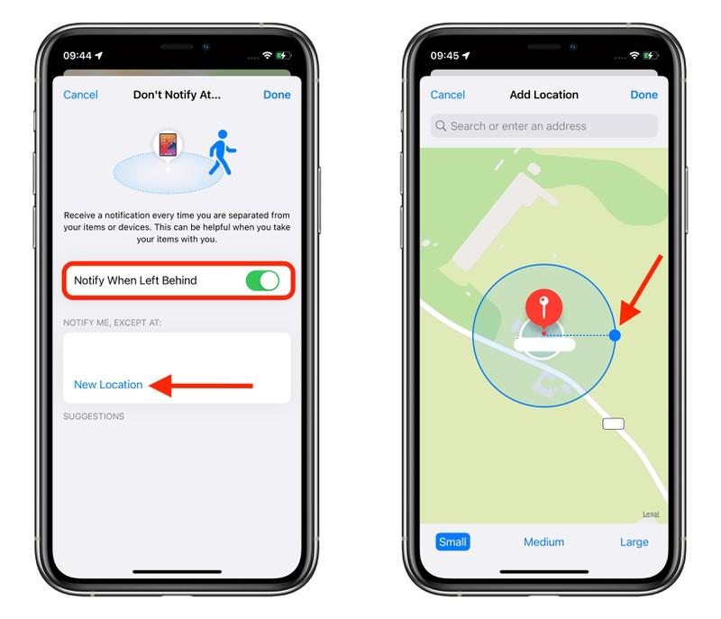 "iOS 15 小技巧:在 iPhone 上设置""遗忘时通知"",及时找回 AirTag 或 AirPods"
