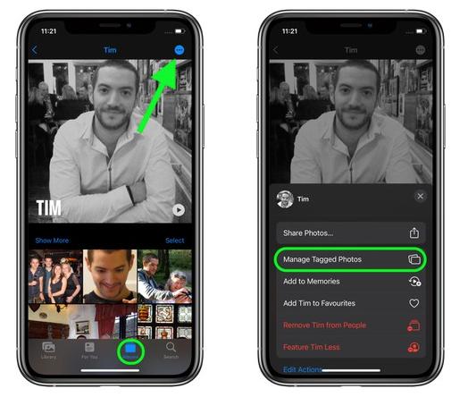 "iOS 15 小技巧:支持手动更改""人物""相册"