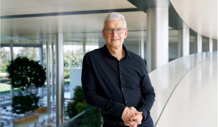 彭博社:苹果 CEO 库克去年收入 2.65 亿美元,在美国高管中排名第八