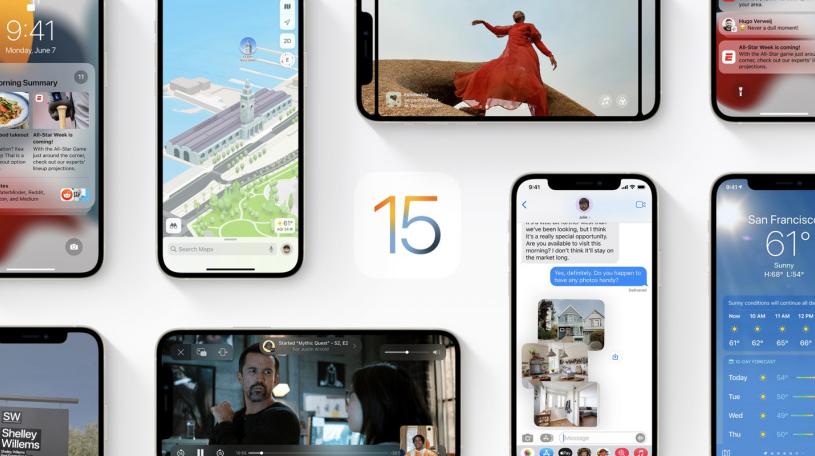 苹果发布 iOS 15/iPadOS 15 公测版 Beta 5