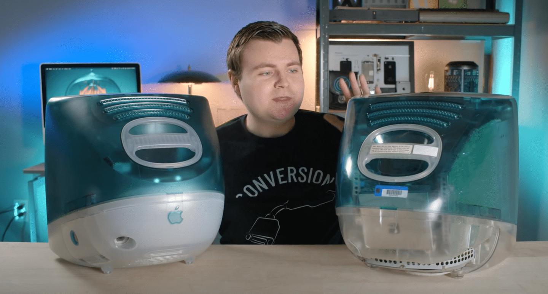苹果 iMac G3 Bondi blue 原型机曝光:极其罕见