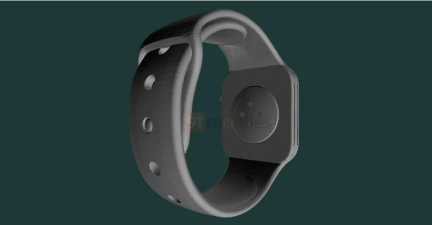 苹果 Apple Watch Series 7 CAD 渲染图曝光