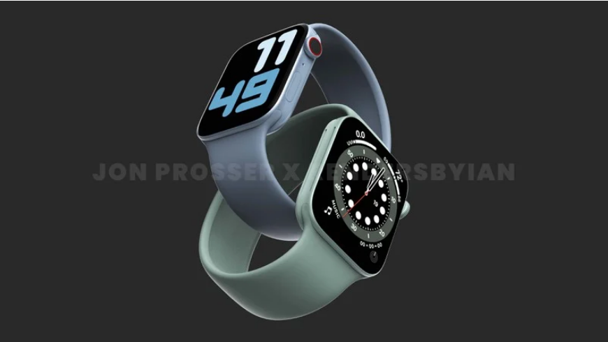 传 Apple Watch Series 7 有两种新尺寸:41mm 和 45mm