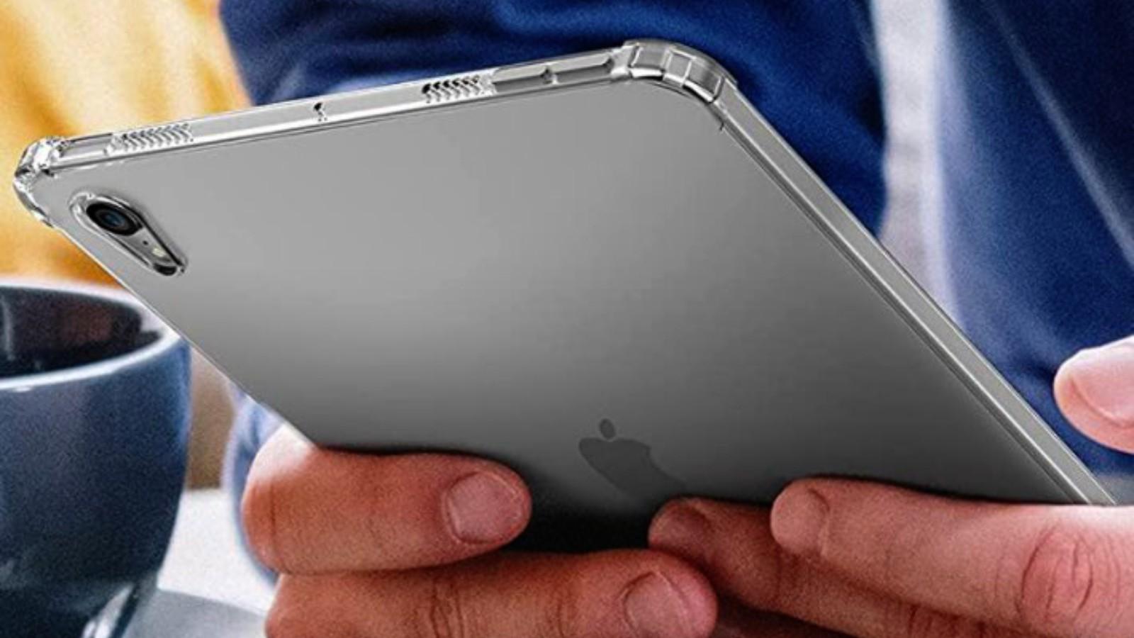 疑似苹果 iPad mini 6 保护壳曝光,音量键在顶部