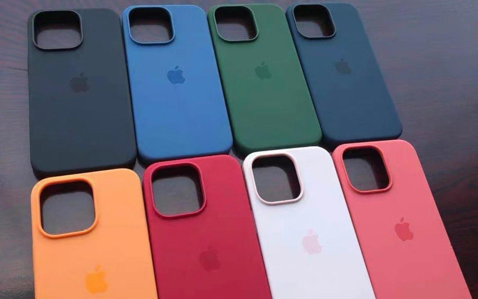 疑似苹果 iPhone 13 四款机型官方保护壳曝光