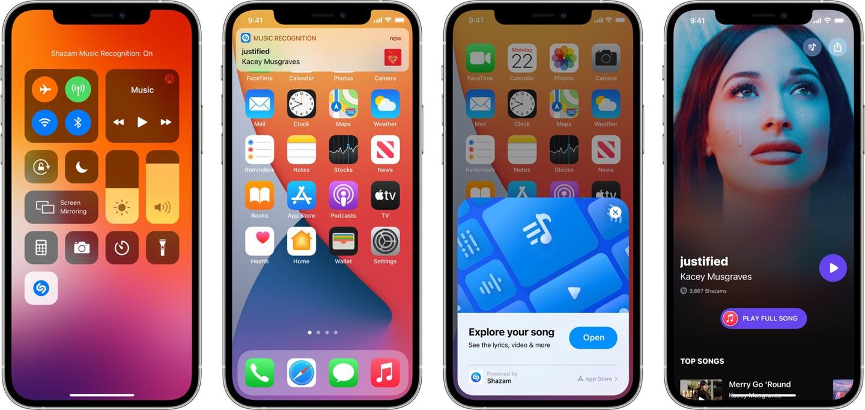 苹果 iOS 控制中心 Shazam 已识别出 10 亿首歌曲