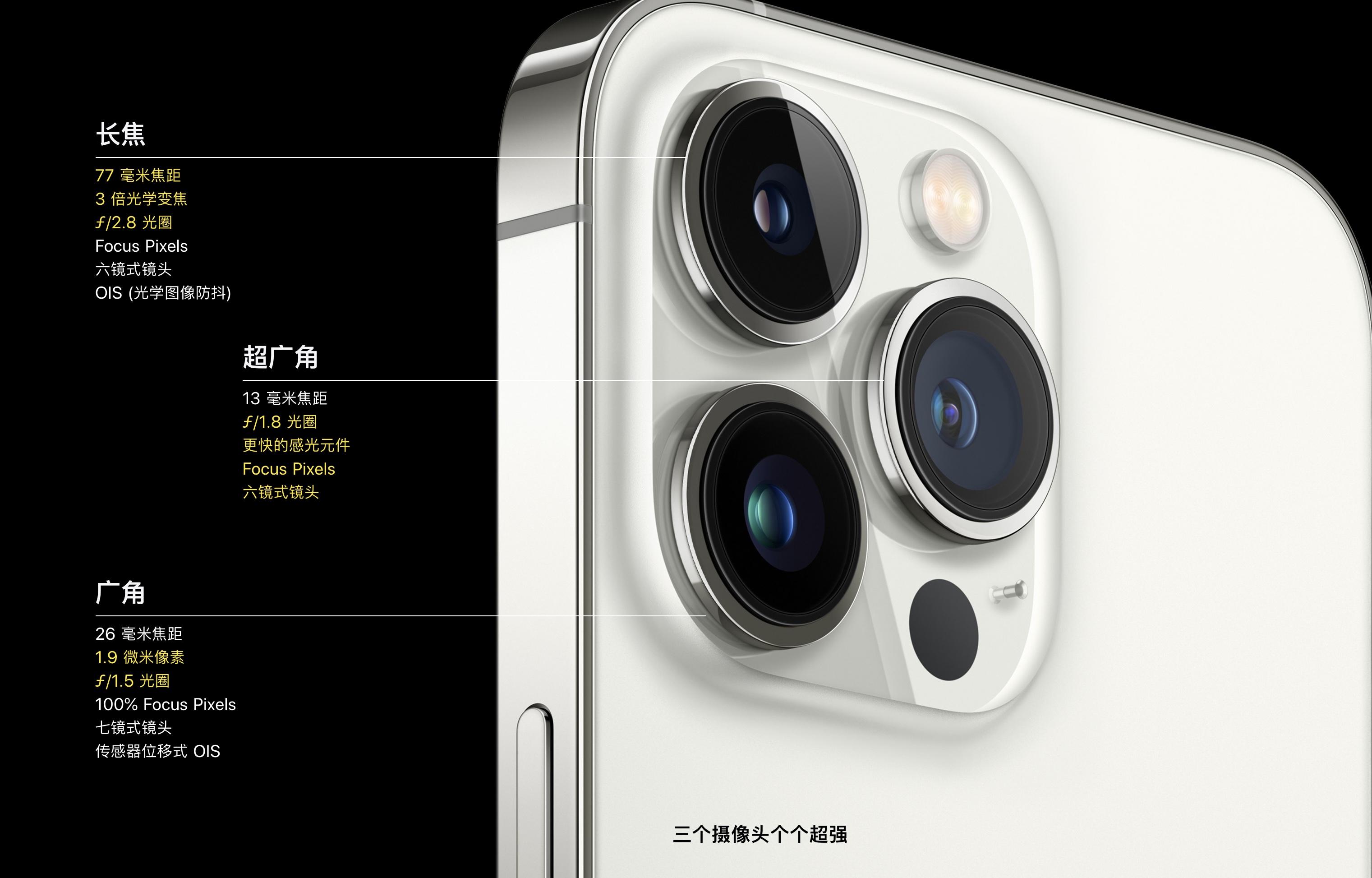 苹果发布全新 iPhone 13 系列:依然是四款机型,摄像头、续航升级