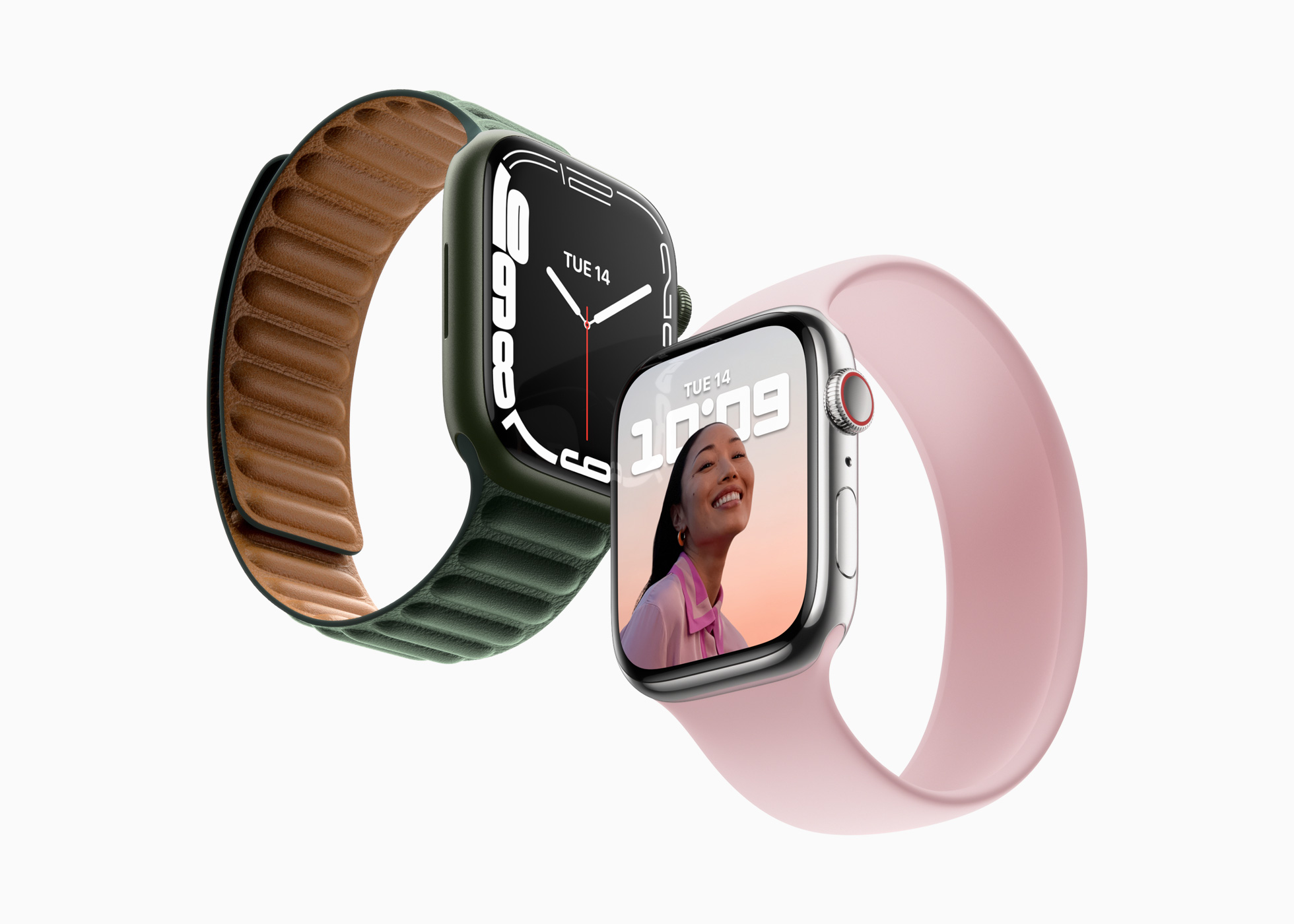 苹果发布 Apple Watch Series 7:屏幕大升级
