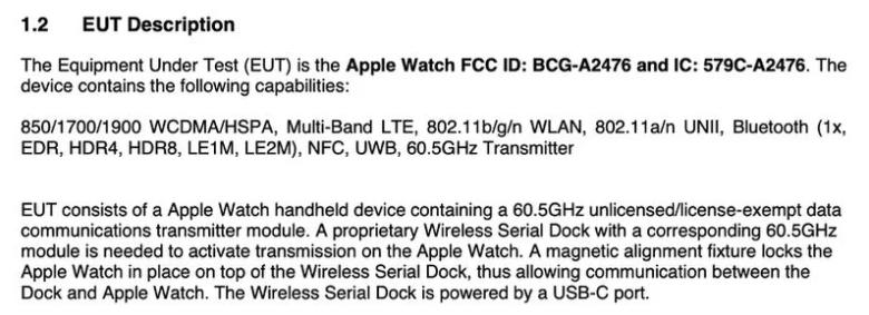 Apple Watch Series 7 支持 60.5 GHz 無線數據傳輸,但需專用磁吸底座