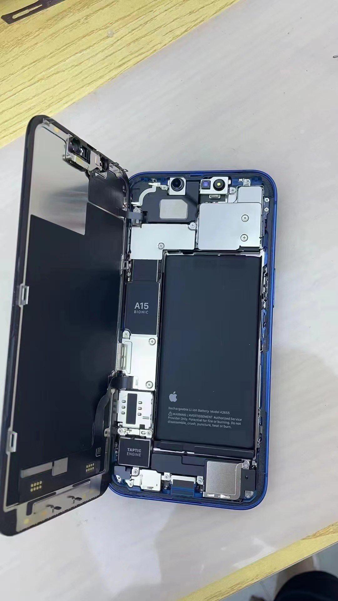 蘋果 iPhone 13 內部設計曝光:采用更大的電池