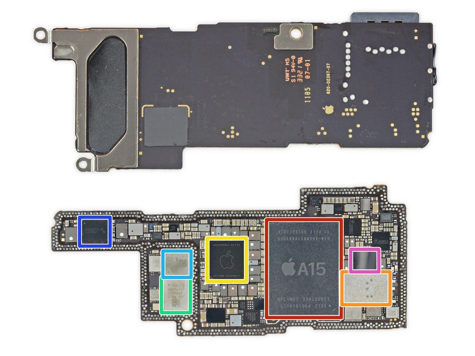 iFixit 分享苹果 iPhone 13 Pro 详尽拆解