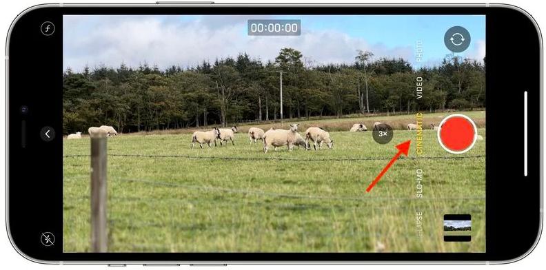 """如何使用 iPhone 13 系列在""""电影效果""""模式下拍摄视频?"""