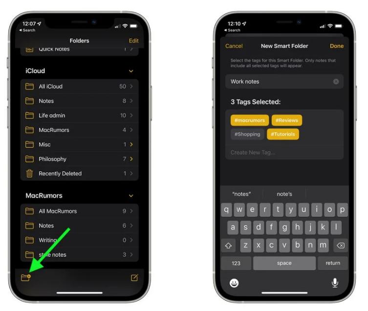 iOS 15 小技巧:使用标签整理备忘录
