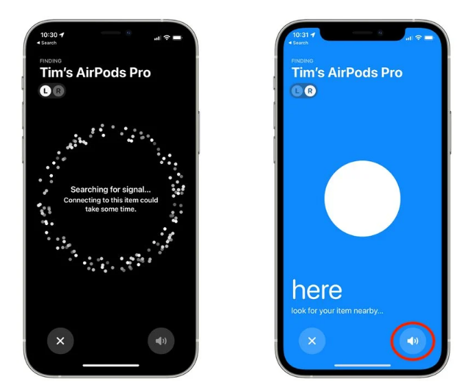 """小技巧:使用 iOS 15 中的""""查找我的网络""""查找 AirPods 2/Pro"""