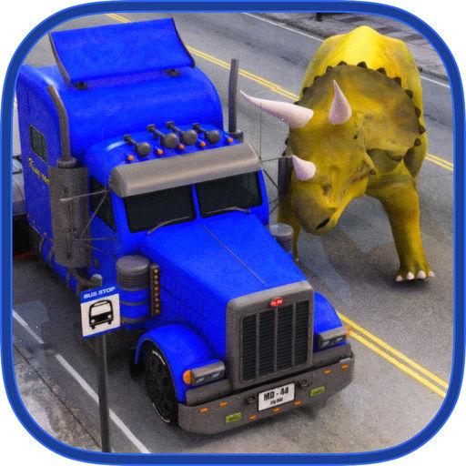 Dinosaur Transport Truck 2016
