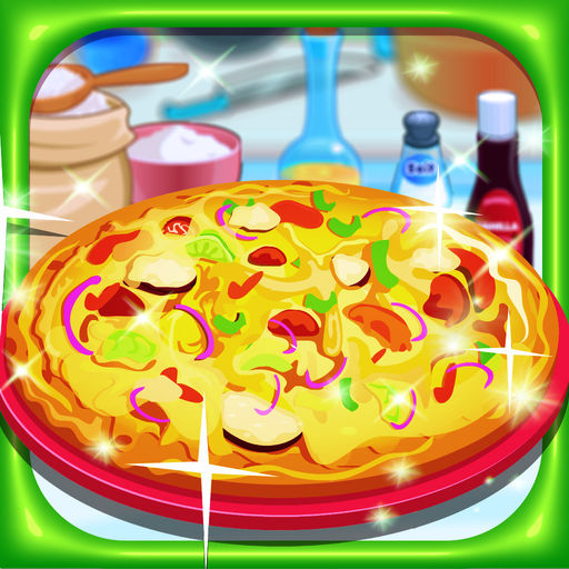 Delicious pizza-cooking game