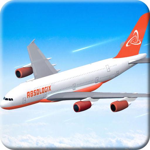 Airplane Flight Simulation 3D