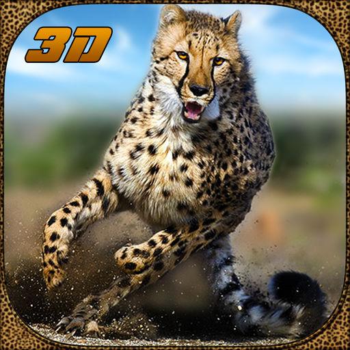 野生动物猎豹攻击模拟器3D
