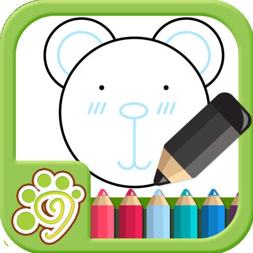 儿童涂鸦涂色画画板app(欢乐盒子)免费益智画图绘图教育画画游戏软件大全hd