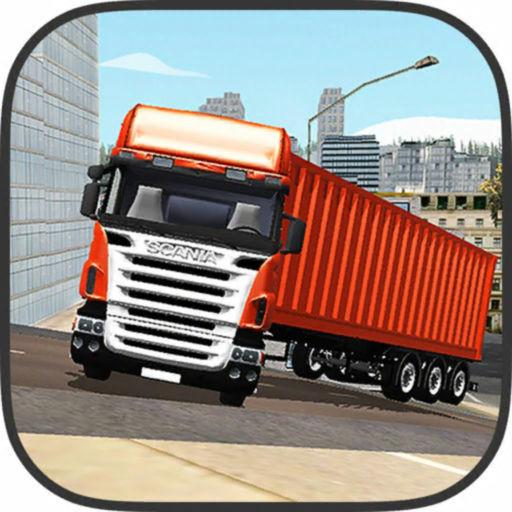 货物拖车运输车