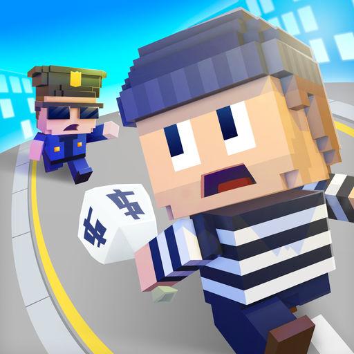 方块警察捉强盗