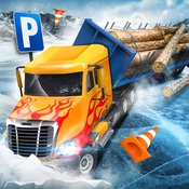 Ice Road Truck Parking Sim