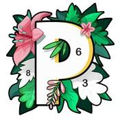 Paint.ly: 秘密花園數字涂色游戲